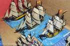 1/1200th Langton Miniatures Spanish - Principe de Asturias (112), Pelayo (74), Medea (40).
