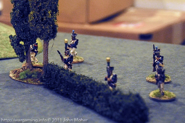 The Poles on the 95th Rifles' right severely outnumbered Cooper & Harris.