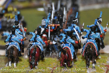 Cam's 1er Régiment de Hussars - 30 year old Hinchliffe Figs!