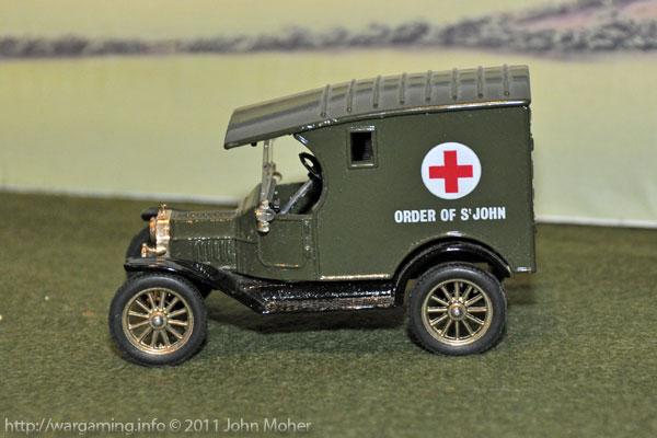 Corgi Models Model-T Ford Ambulance