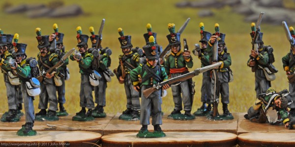 27th Dutch Jäger Battalion - Right (Flanquer) & Centre Companies