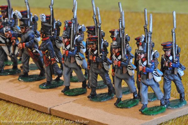 Dutch Militia at Quatre Bras & Waterloo (the 8th Battalion)