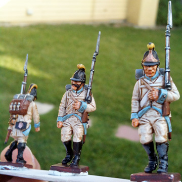 Jeff Lower's first Victrix Austrians
