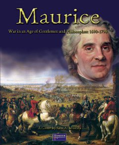 Maurice: War in the Age of Gentlemen and Philosophies 1690-1790 Cover