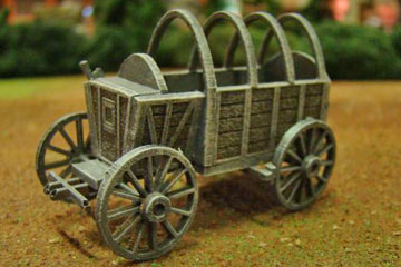 Najewitz 'Finnpappe' German Field Wagon