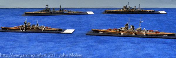 Prinz Eugen & Bismark attempt to head-off Hood & Prince of Wales