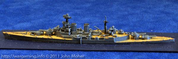 The redoubtable HMS Hood