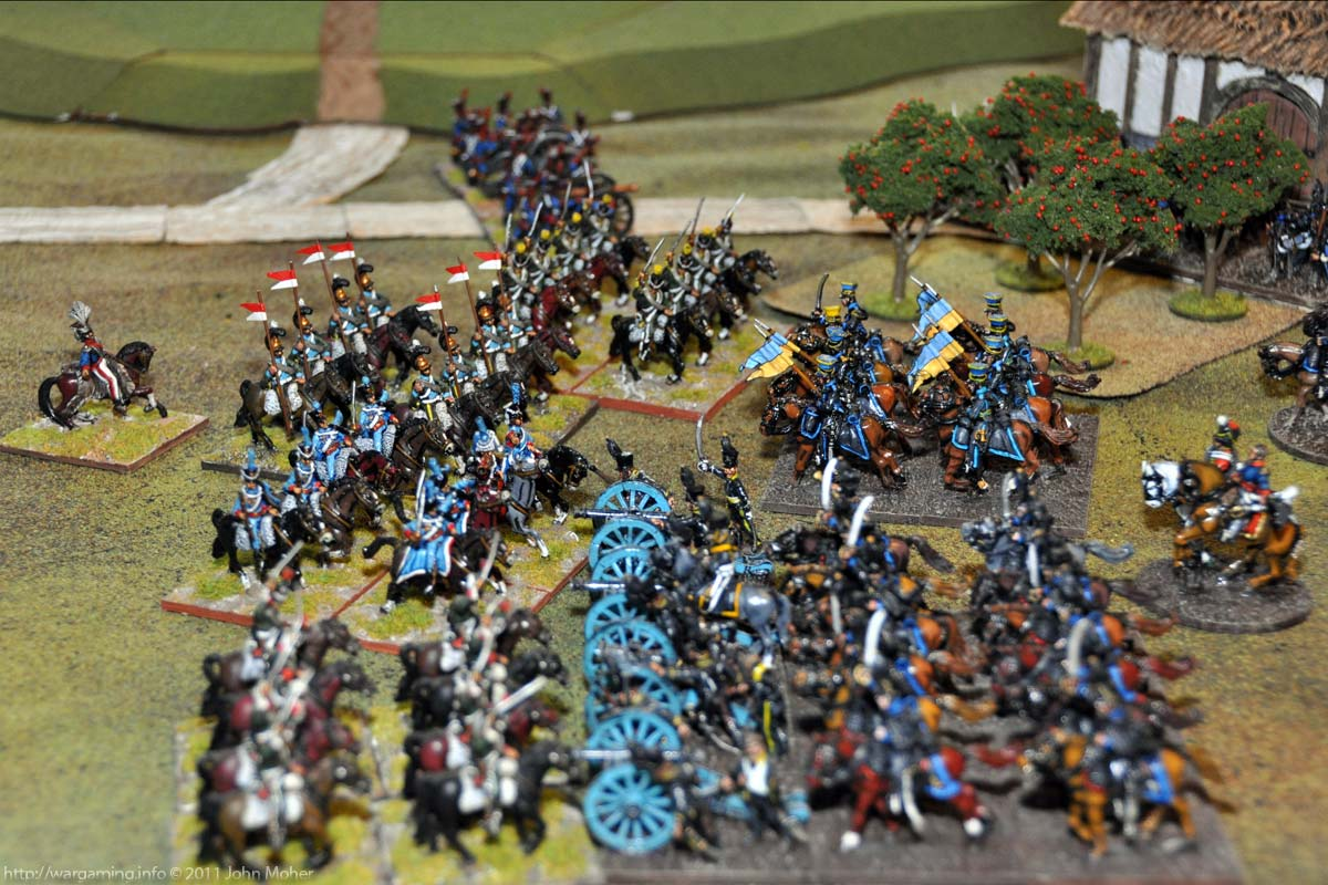 Turn 3 - The French charge agains tHeinemann's Horse Guns
