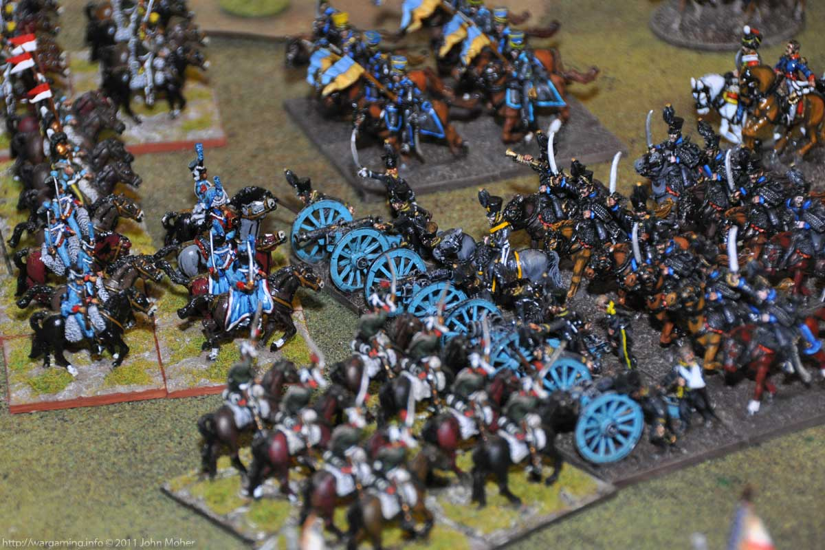 Turn 3 - Closer view of the French charge