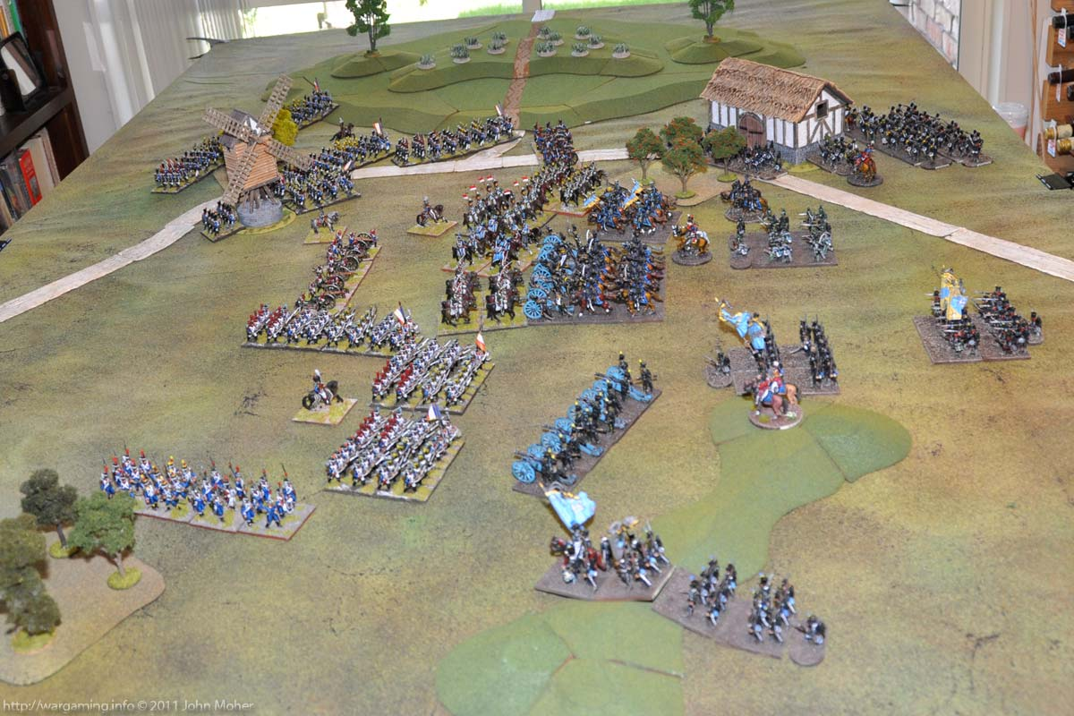 Position at the end of Turn 3