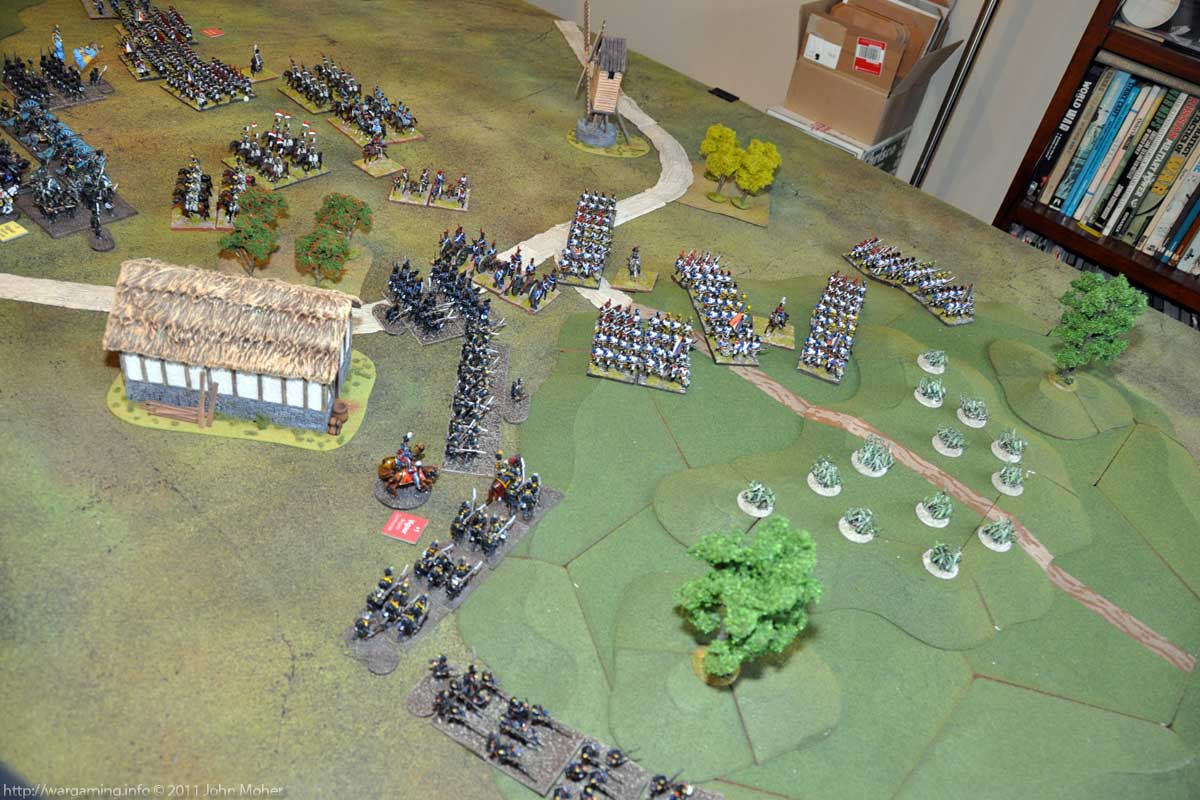 Turn 6 - Both forces begin to ascend the Dominat Hill in the West