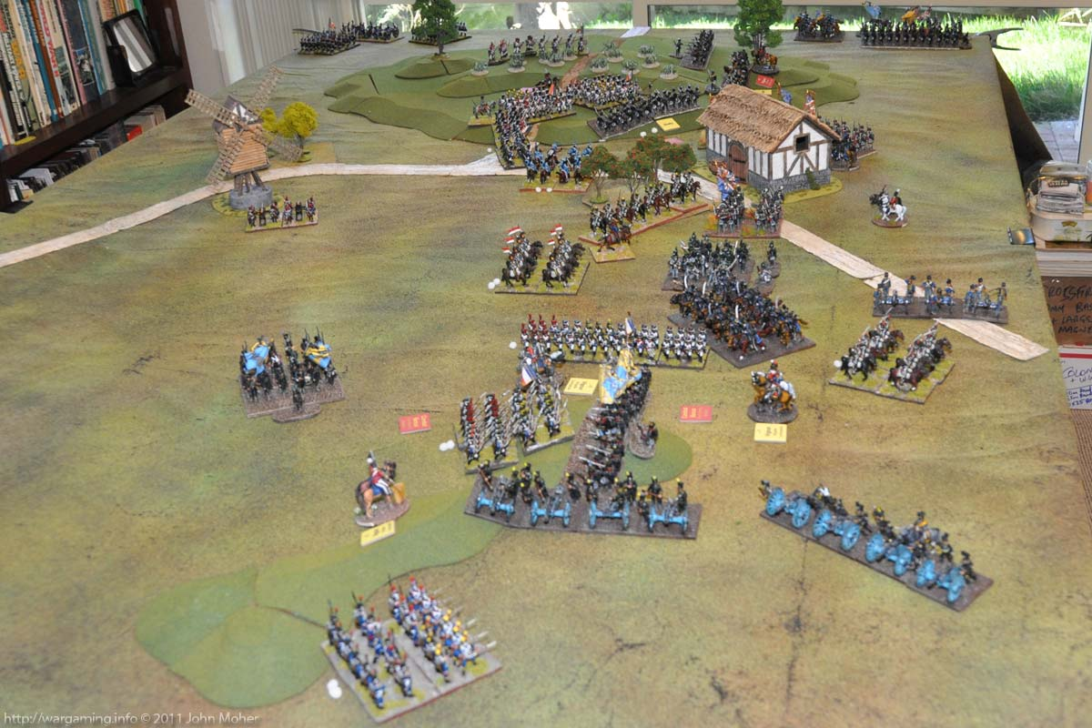 Position at the end of Turn 10