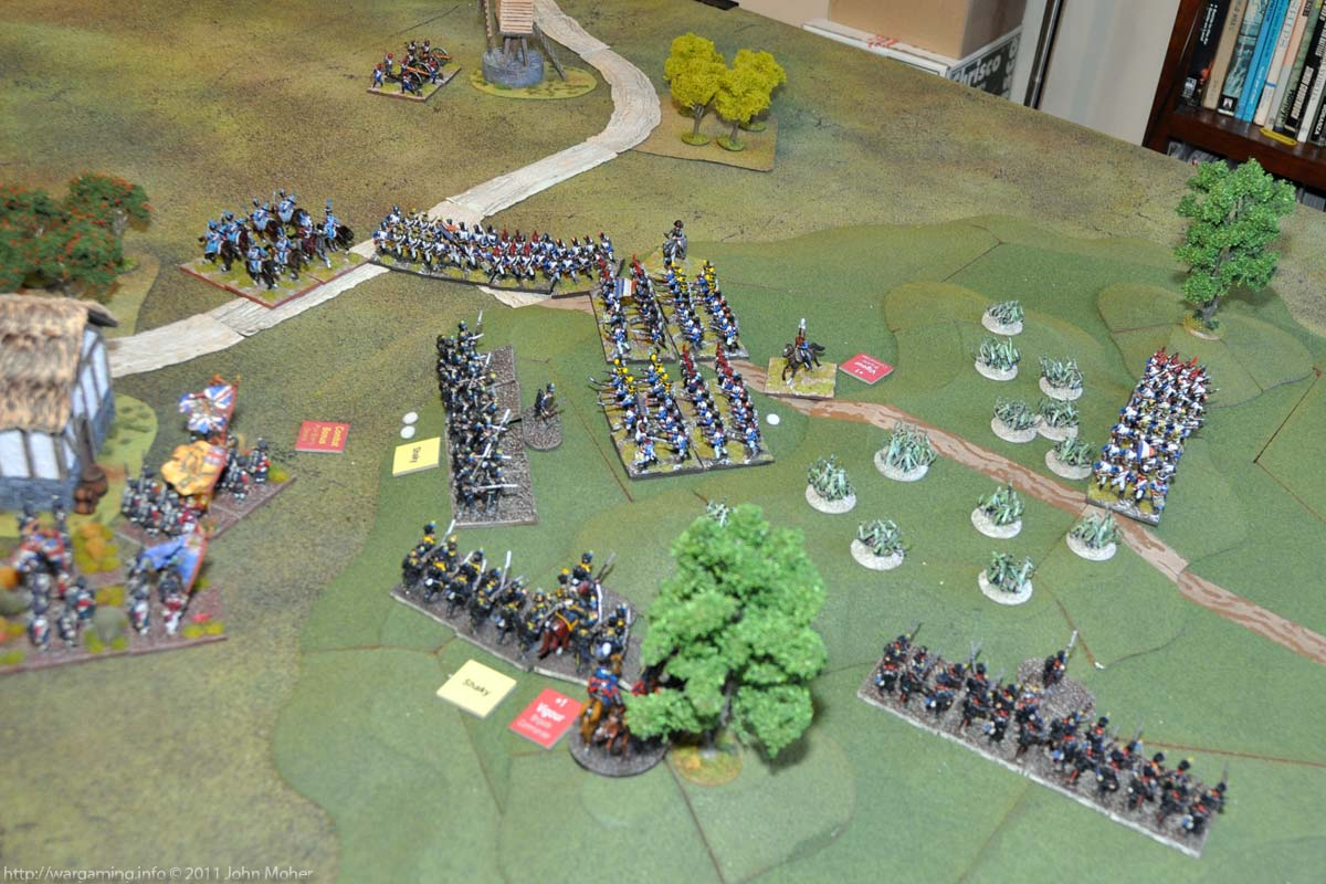 Start of Turn 11 - The Leibgarde are no more...