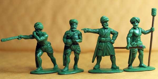 Indus Indian Gun Crew