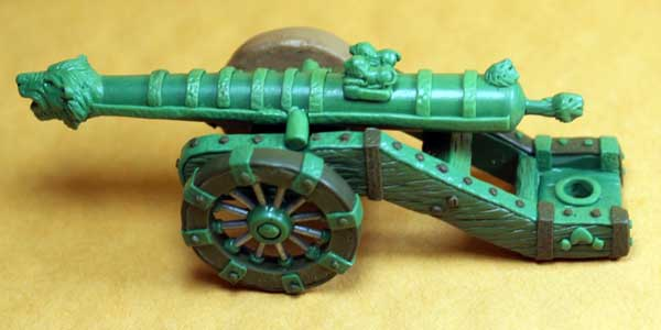 Indus Indian Ornate Heavy Gun No.1