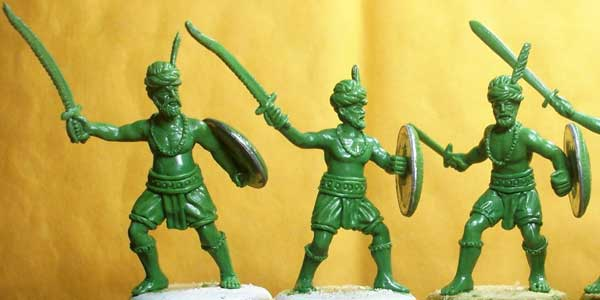 Indus Indian Hindu Militia Infantry