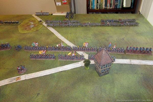 Photo 2 - The opposing infantry.