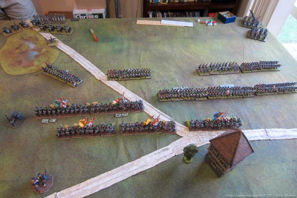 Photo 6 - Retribution for the French infantry...