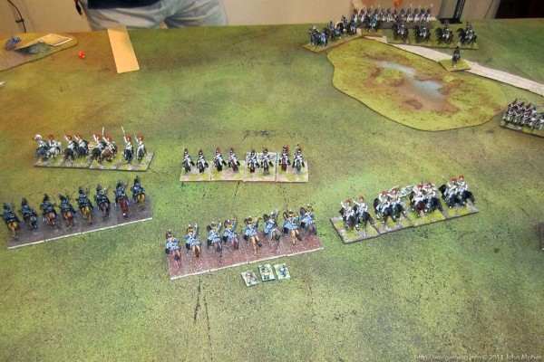 Photo 8 - A small cavalry victory for the French.