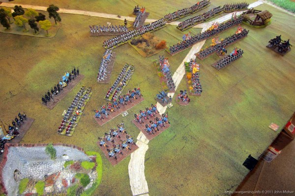 About British round 7 (i.e. 'turn' 13) - before the Volley Fire phase
