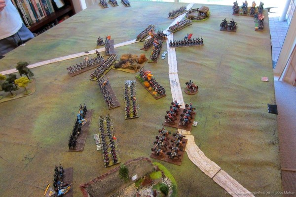 Final Throes - the scene before the last desperate British attacks