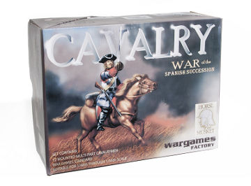Wargames Factory War of the Spanish Succession Cavalry box