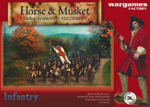 Wargames Factory War of the Spanish Succession Infantry box