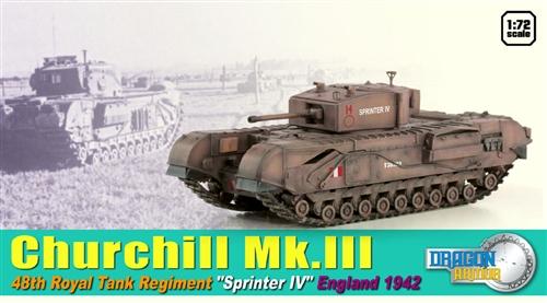 DRA60591 - British Churchill Mk.III in the UK in 1942