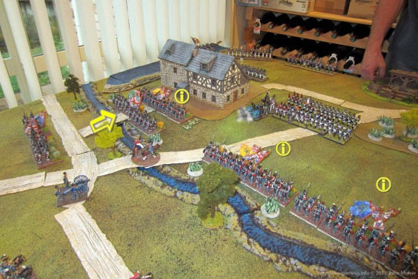 Gendarmerie de France, Regiment de le Roi, Blenheim garrison all now broken