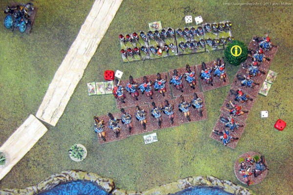 Oh No!!! That's Not On The Map! The Allied Cavalry's charge turns to disaster...
