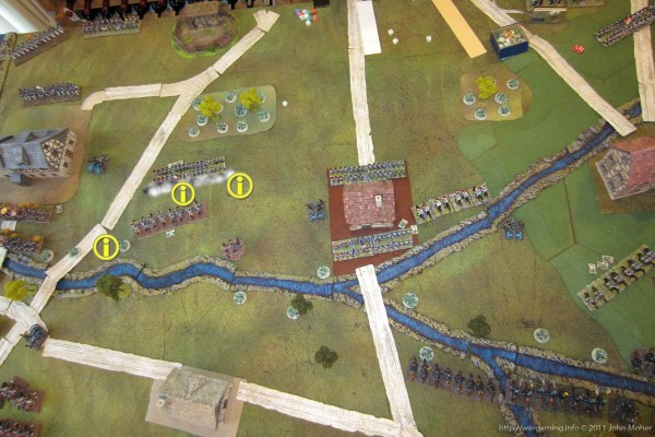 Disaster for the Allies - 3 Cavalry units destroyed in quick succession!