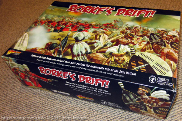 "Warlord Games & Empress Miniatures ""Rorke's Drift"" box set"