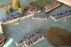 Our Artillery is overrun and the 12th NY move up...
