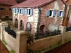 Italeri House With Porch Looking Over The Wall