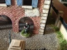 Italeri House With Porch Yard Detail