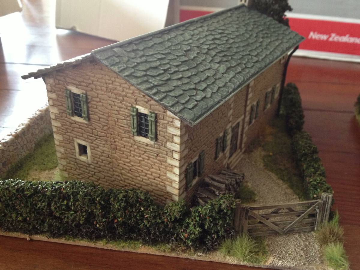 Italeri Stone House Rear