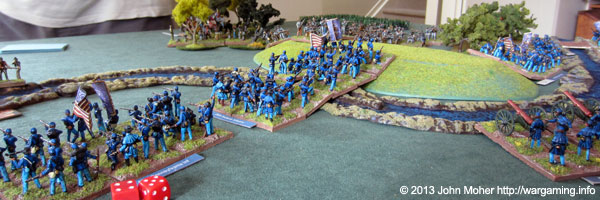 The 20th Indiana Cross The Ford To Counter-Attack...