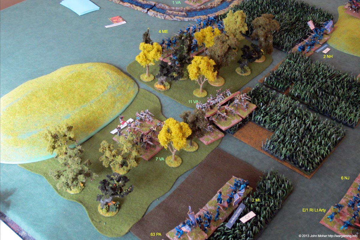 The Moment Before General Longman Began A Rapid Disengagement...