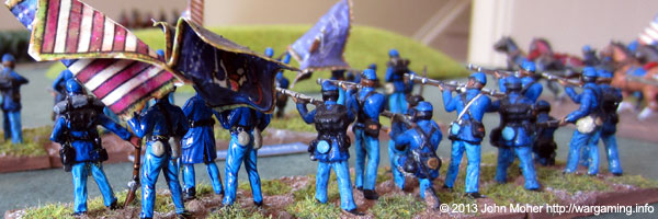 The Mighty 1st Massachusetts Infantry.
