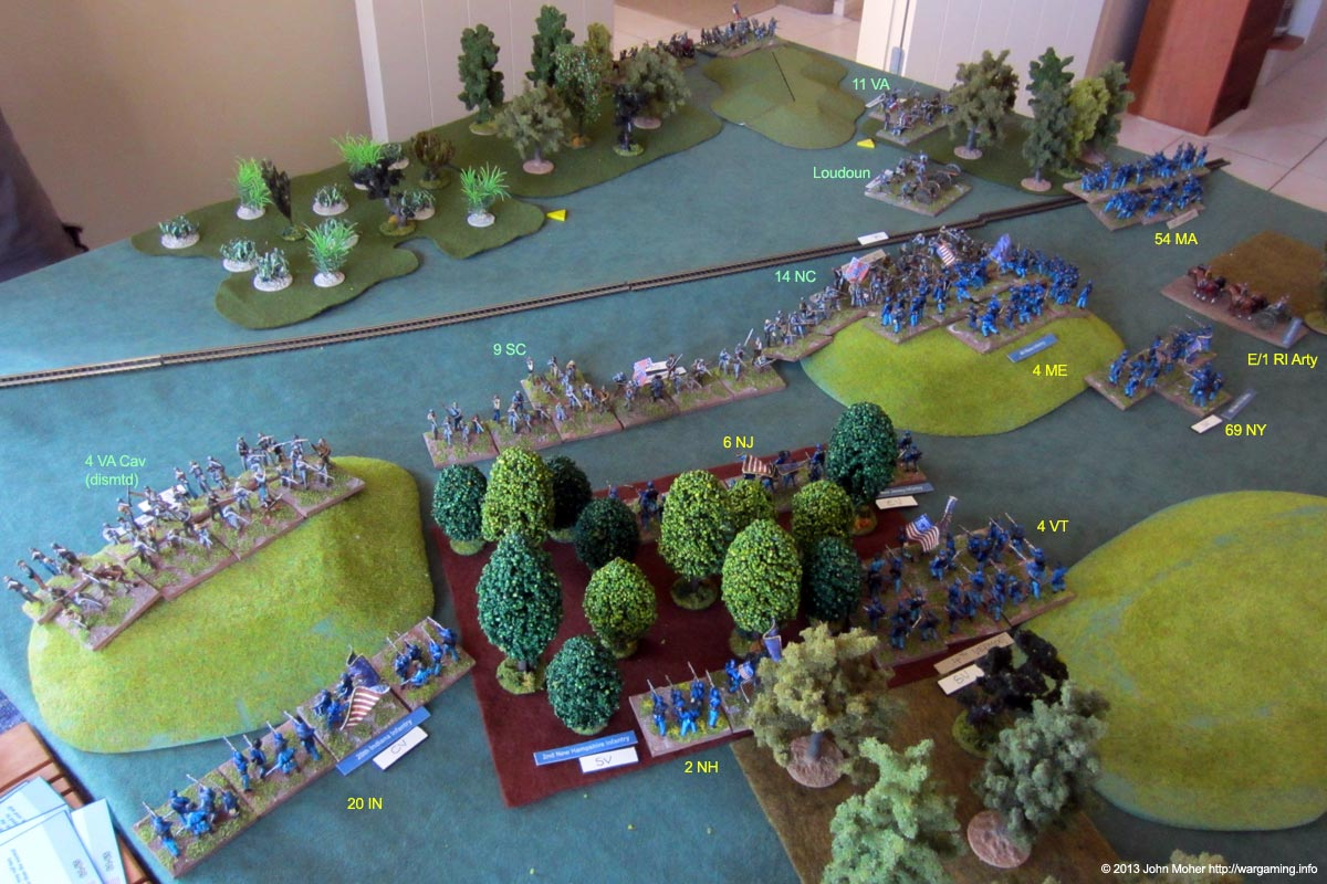 The General Confederate Advance, Blunting Our Own Attack Before It Develops.