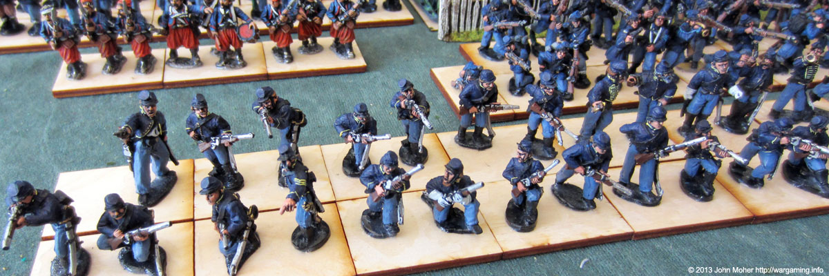 Union Dismounted Cavalry #3.