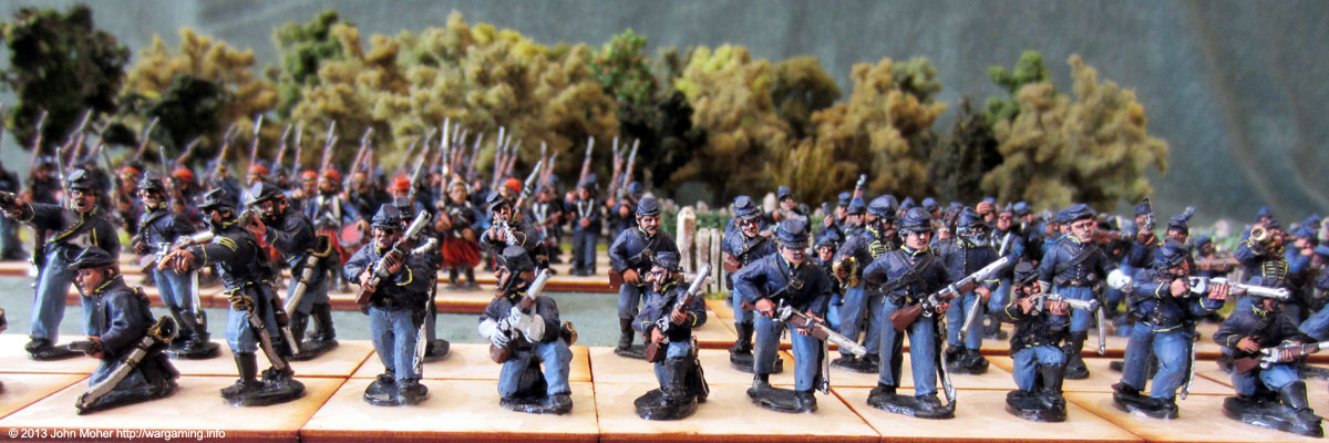 Union Dismounted Cavalry #4.