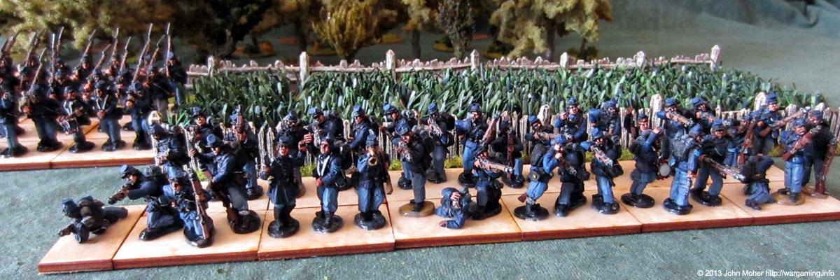 Union Infantry Firing Line #1.