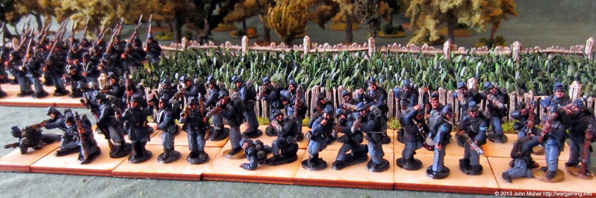 Union Infantry Firing Line #4.