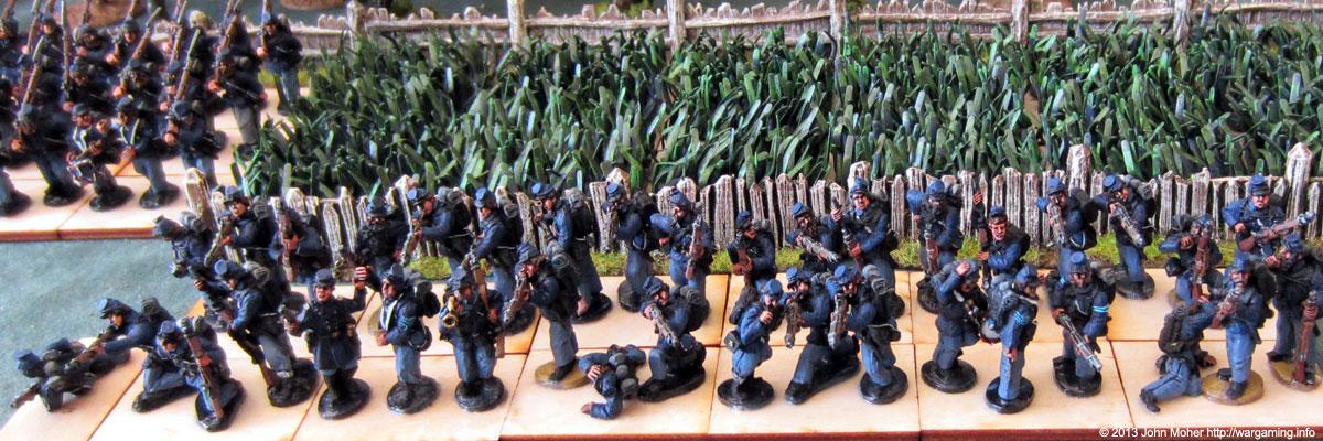 Union Infantry Firing Line #2.