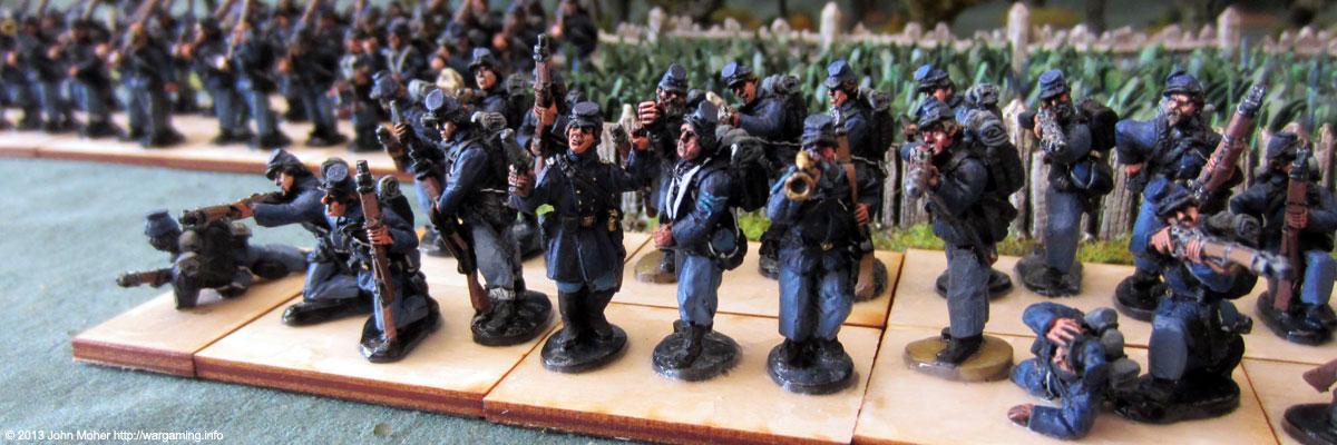 Union Infantry Firing Line #3.