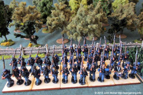 Union Regiment(s) March Attack...