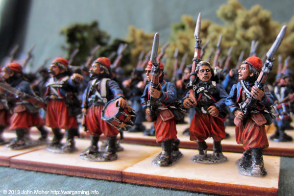 Union Zouaves (Foundry Miniatures).