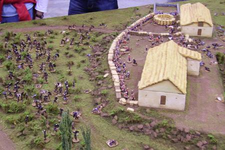 SSWG's Rorke's Drift at Salute 2006 in the UK.