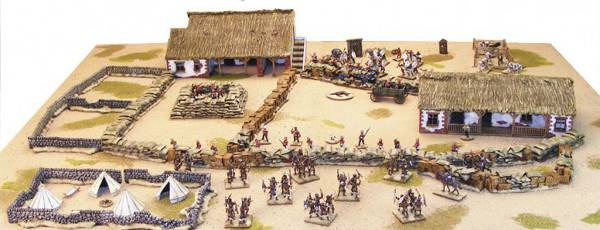 "The Warlord Games ""Horns Of The Buffalo Rorke's Drift Set."